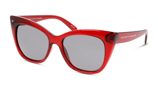 The Mister C40 Grijs / Rood, Transparant