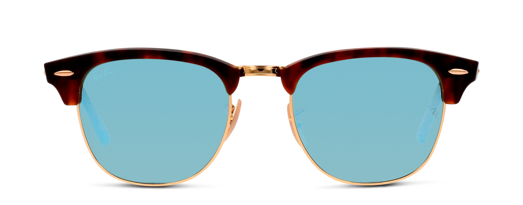 Front Ray-Ban Ray-Ban 3016 114530 51/21 Goud, Bruin/Zilver