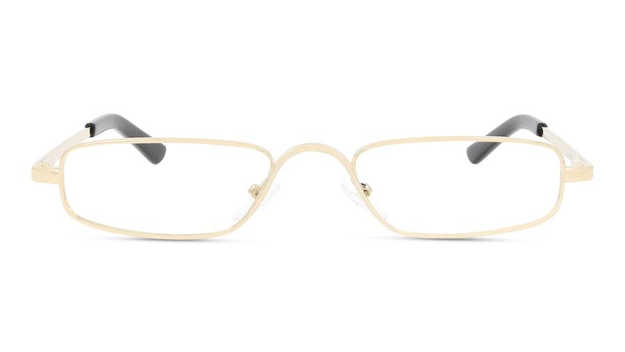 Óculos de leitura Graduação: +1.00 Dourado