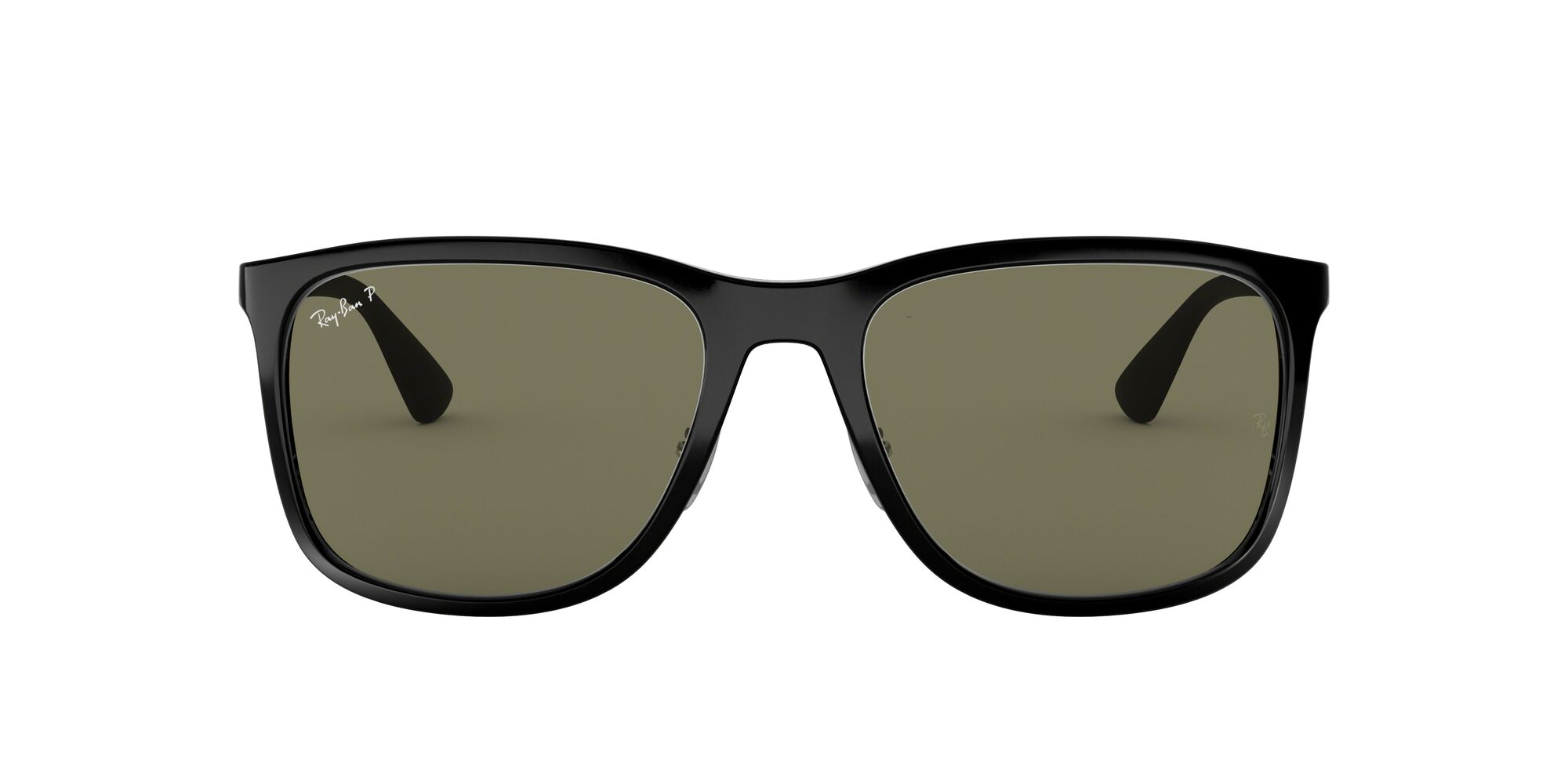 Front Ray-Ban Ray-Ban RB4313 601/9A 58/19 Zwart/Groen