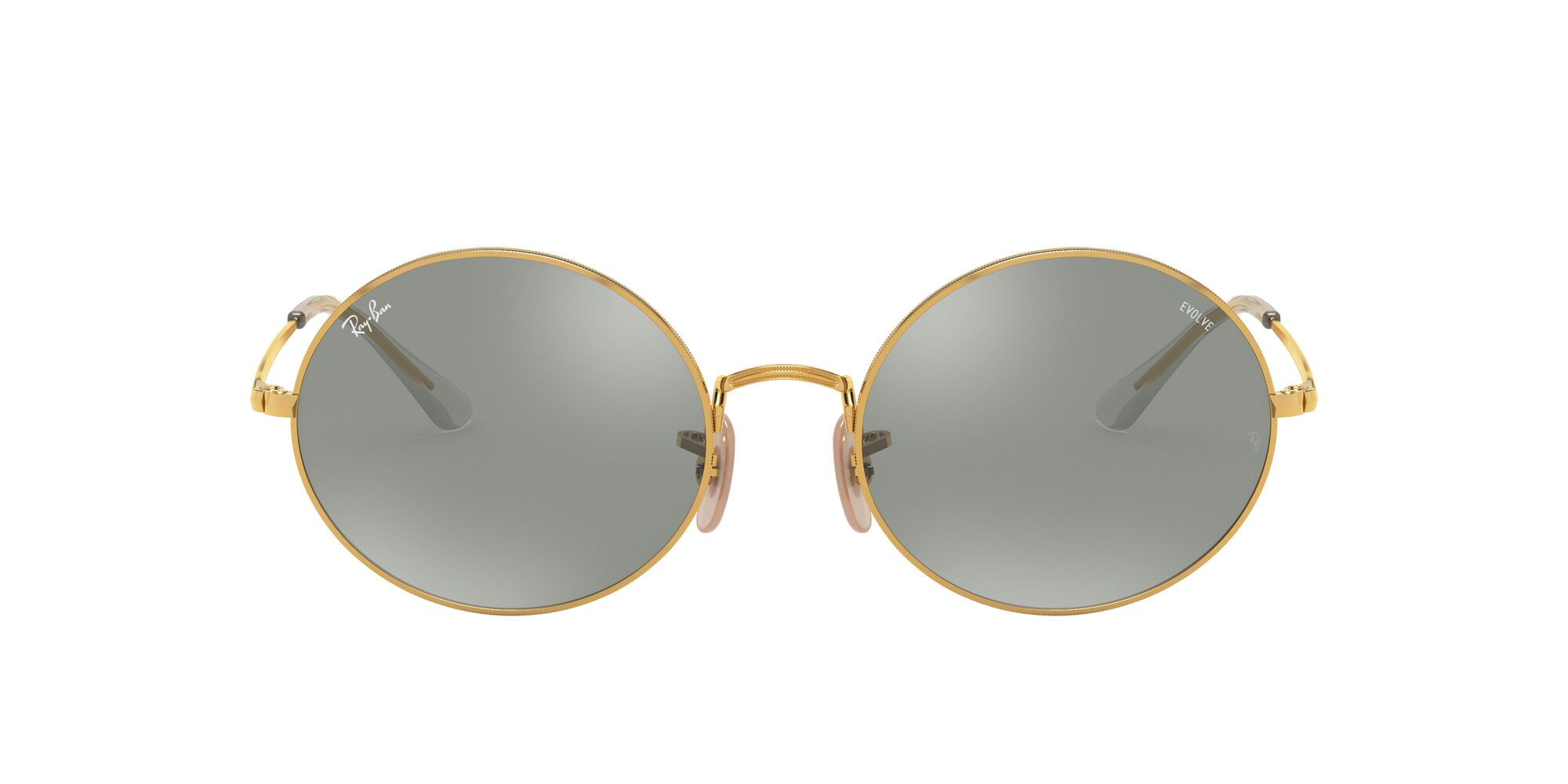 Front Ray-Ban Ray-Ban 0RB1970 001/W3 53/19 Goud/Grijs