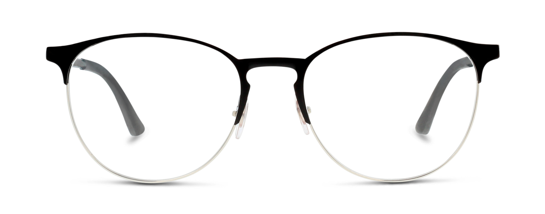 Front Ray-Ban 0RX6375/2861/5318/145 Silver
