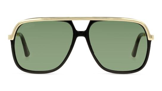 GG0200S 1 Verde / Nero