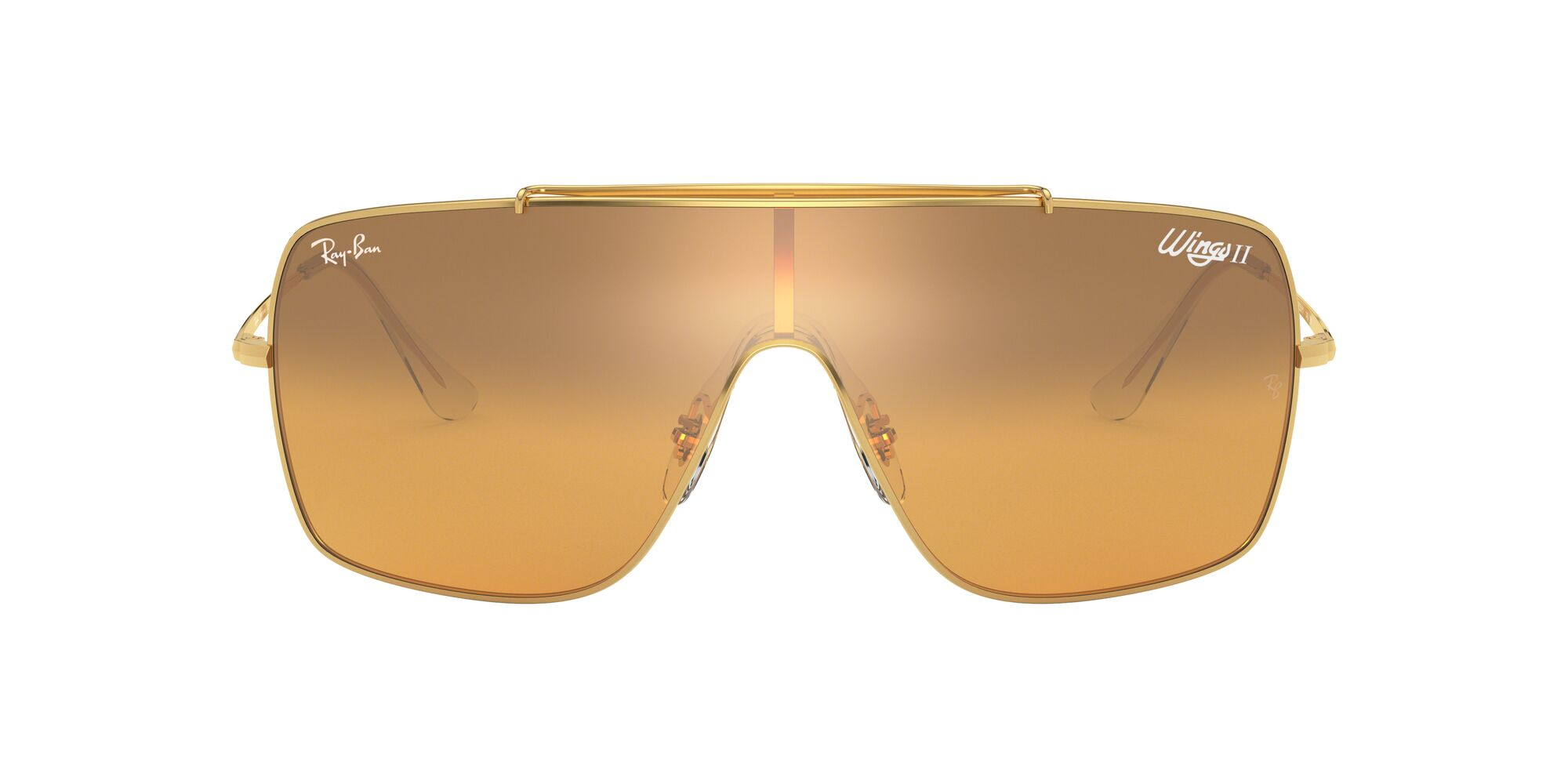 Front Ray-Ban Ray-Ban 0RB3697 9050Y1 99/0 Goud/Oranje