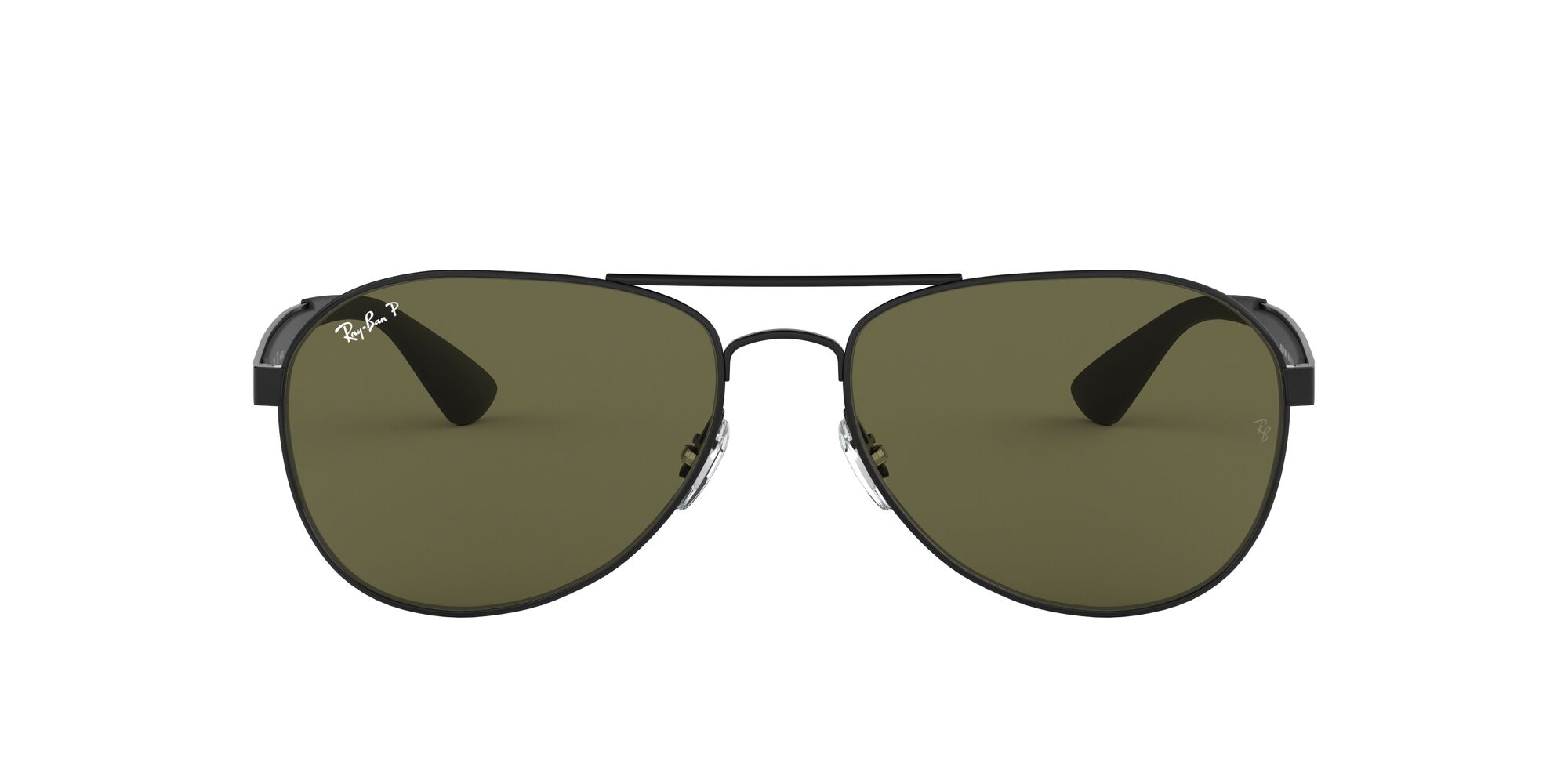 Front Ray-Ban Ray-Ban 0RB3549 006/9A 58/16 Zwart/Groen