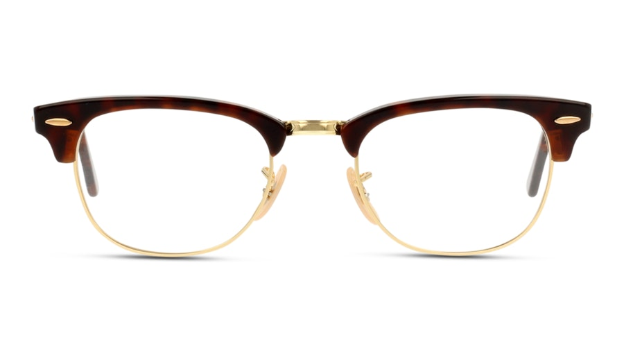 Ray-Ban CLUBMASTER X5154 2372 Rood, Bruin