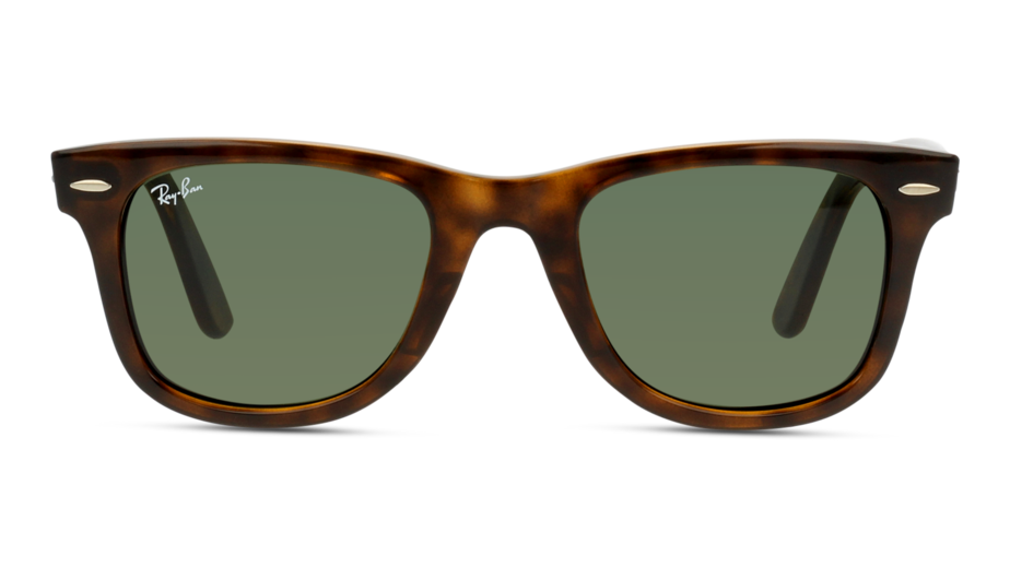 Front Ray-Ban Ray-Ban 0RB4340 710 50/22 Bruin/Groen