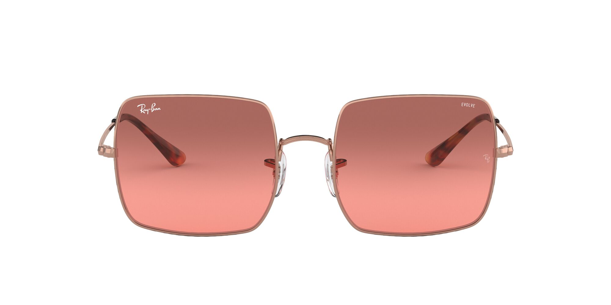 Front Ray-Ban Ray-Ban 0RB1971 9151AA 54/19 Beige/Rood