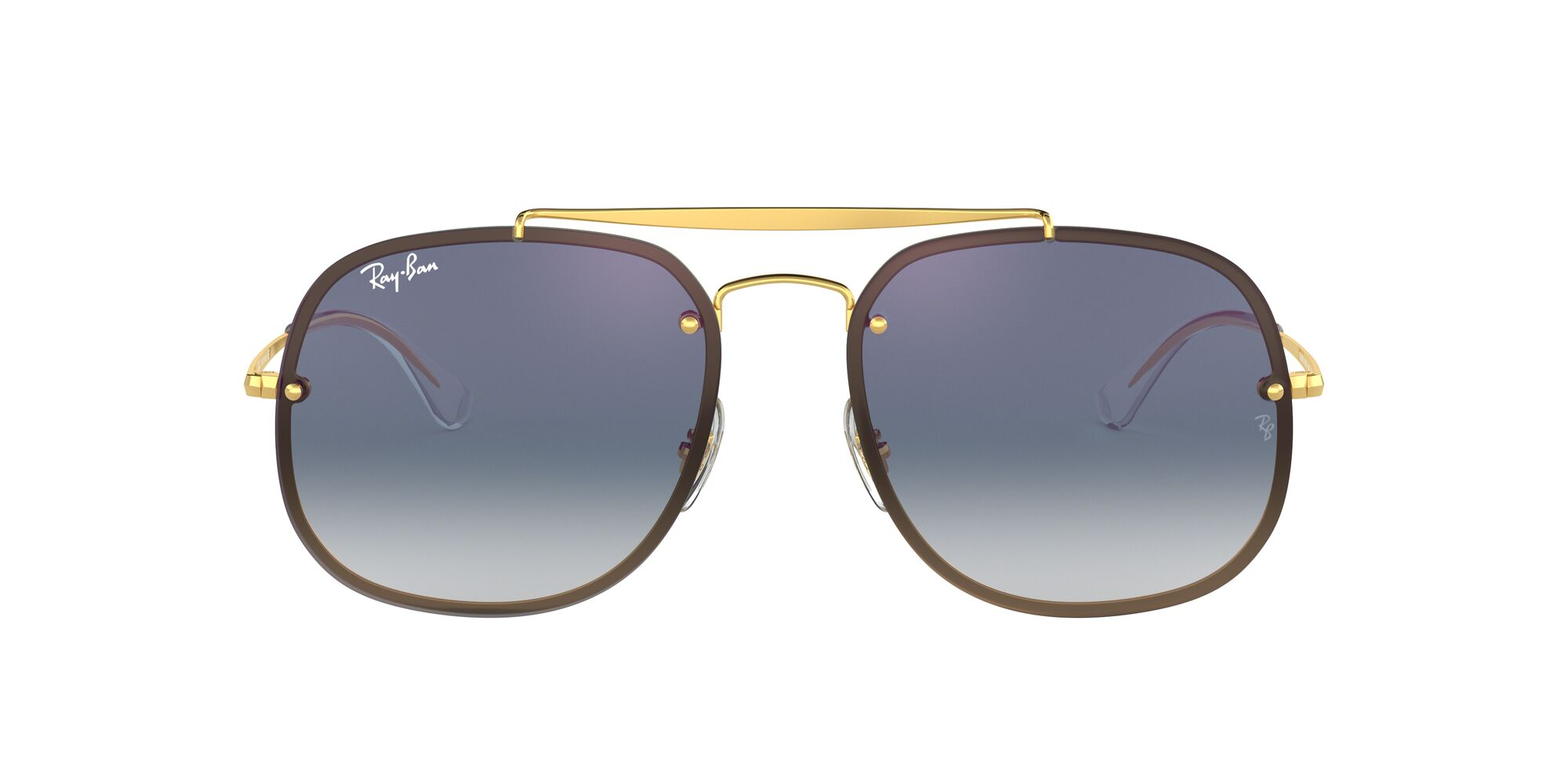 Front Ray-Ban Ray-Ban 0RB3583N 001/X0 58/16 Goud/Blauw