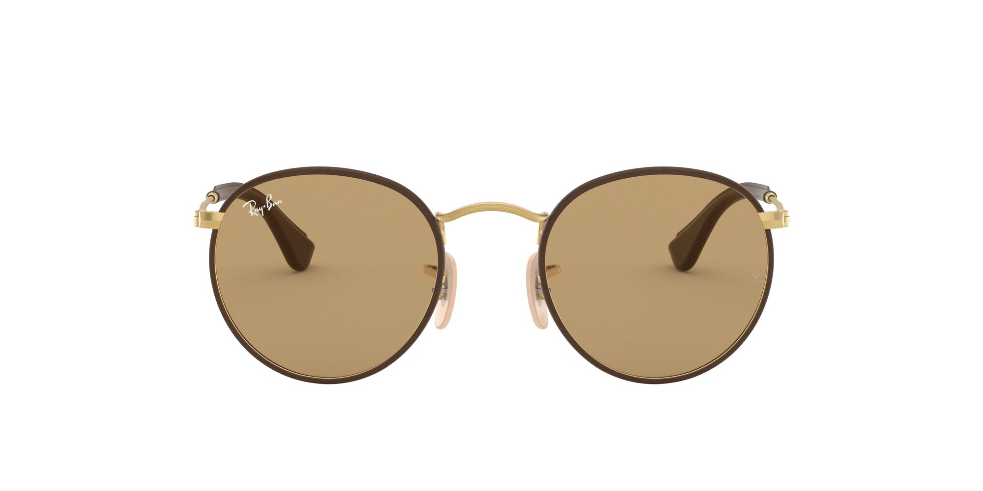 Front Ray-Ban Ray-Ban 0RB3475Q 112/53 50/21 Goud/Bruin