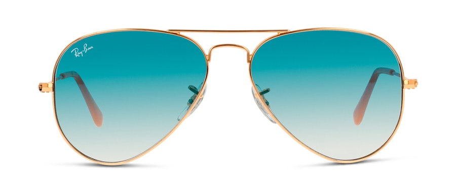 Ray-Ban AVIATOR LARGE METAL 3025 001/3F Bleu