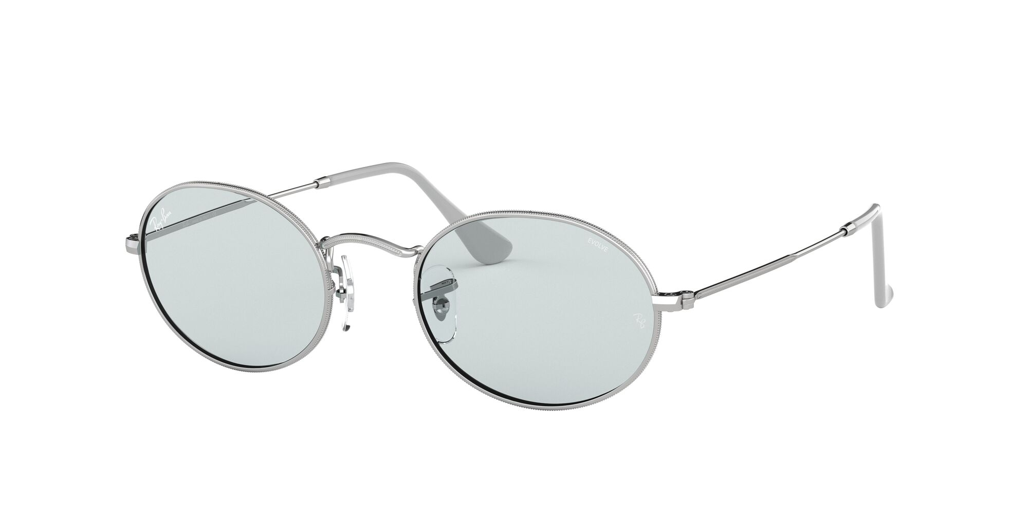 Angle_Left01 Ray-Ban Ray-Ban 0RB3547 003/T3 53/21 Zilver/Grijs