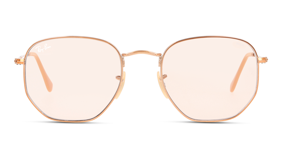 Front Ray-Ban Ray-Ban RB3548N 9131S0 54/21 Goud/Bruin
