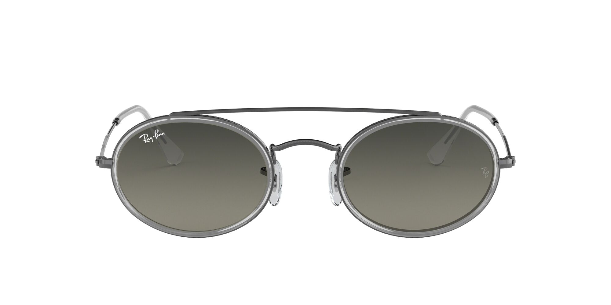 Front Ray-Ban Ray-Ban RB3847N 004/71 52/23 Zilver/Groen