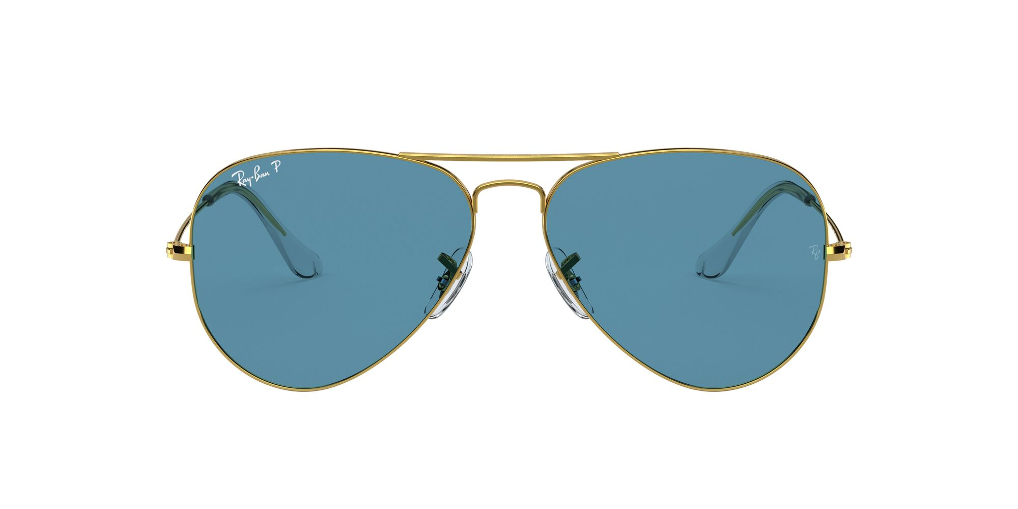 Front Ray-Ban Ray-Ban 0RB3025 9196S2 54/14 Goud/Blauw