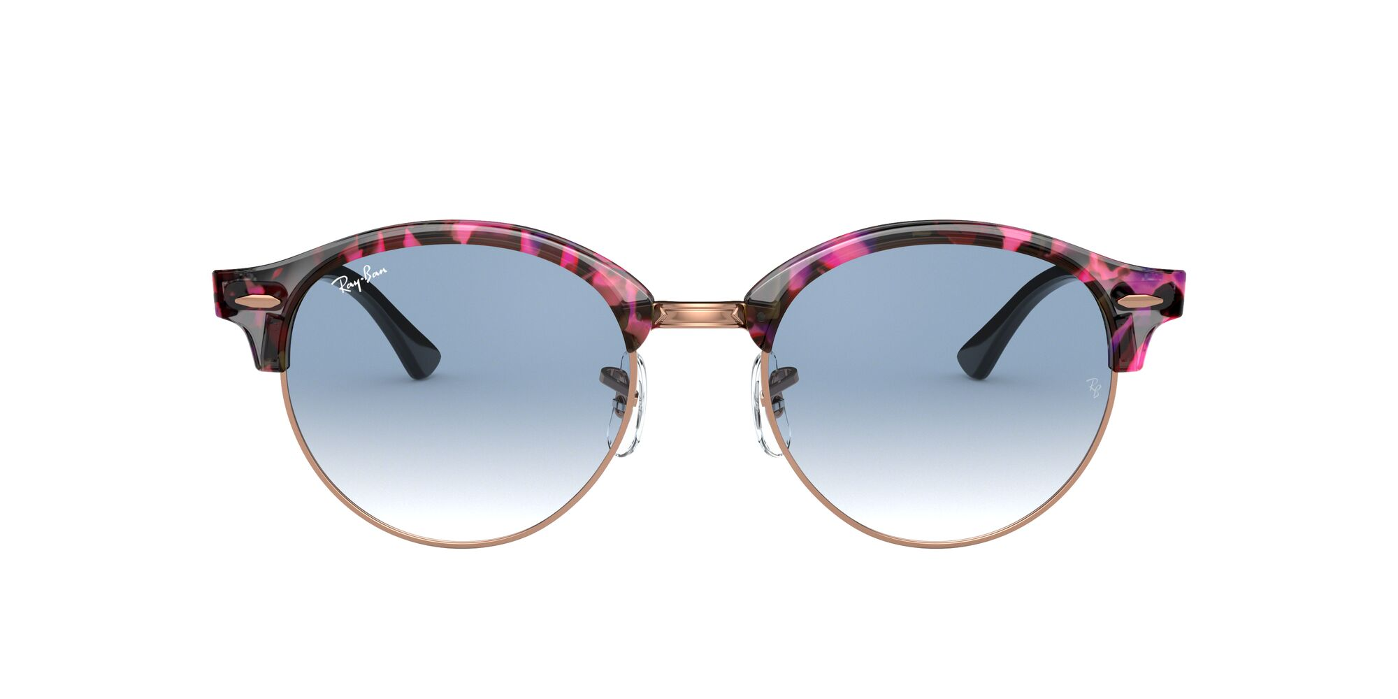 Front Ray-Ban Ray-Ban 0RB4246 12573F 51/19 Grijs/Blauw