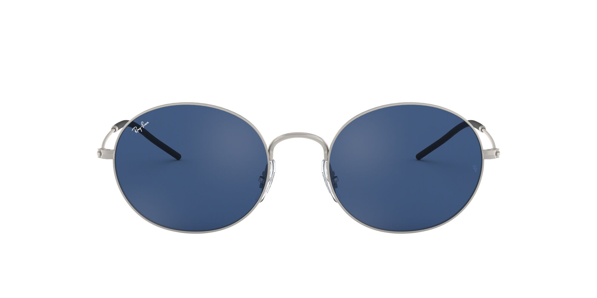 Front Ray-Ban Ray-Ban 0RB3594 911680 53/20 Zilver/Blauw