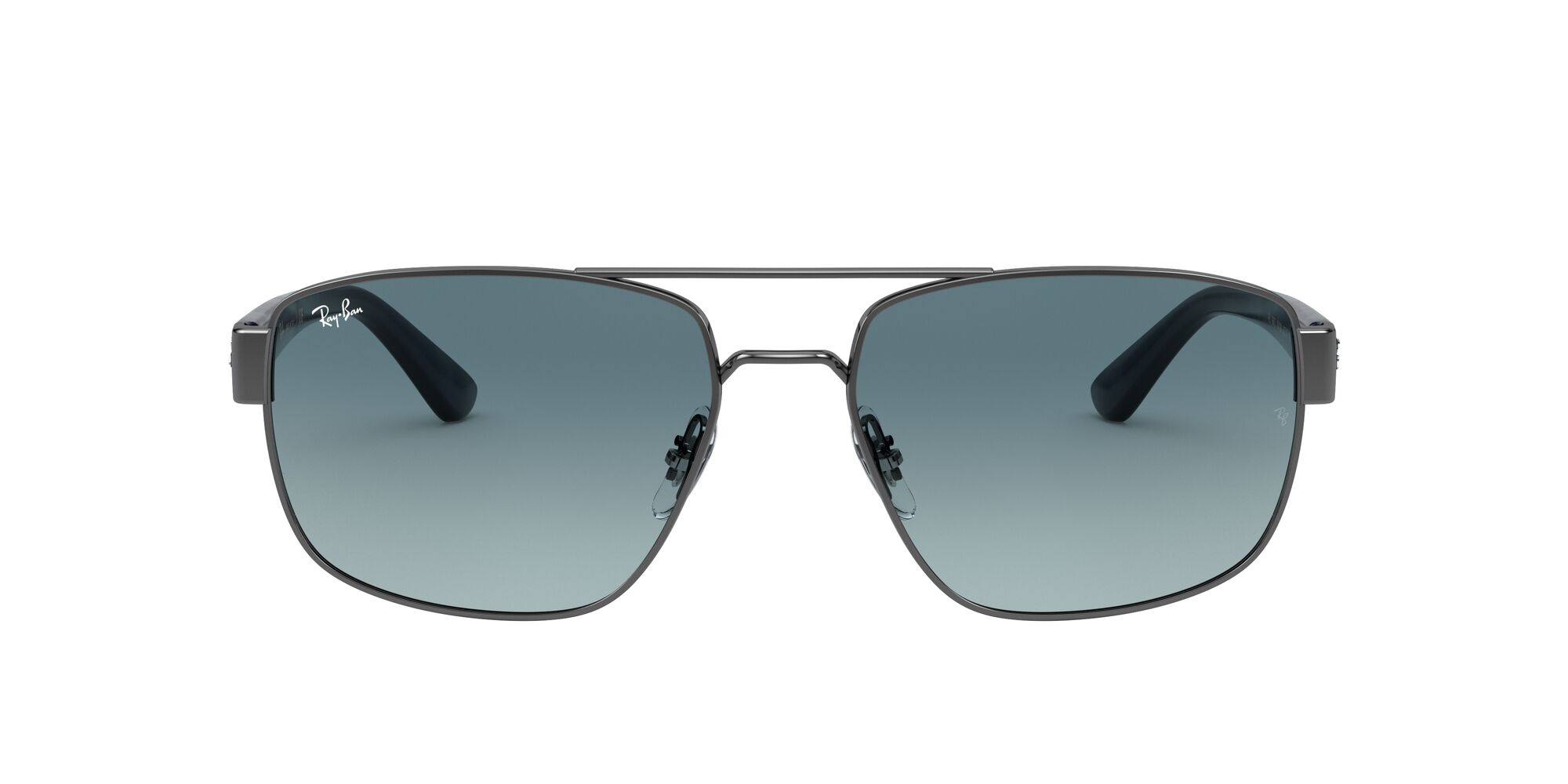 Front Ray-Ban Ray-Ban 0RB3663 004/3M 59/17 Zilver/Blauw