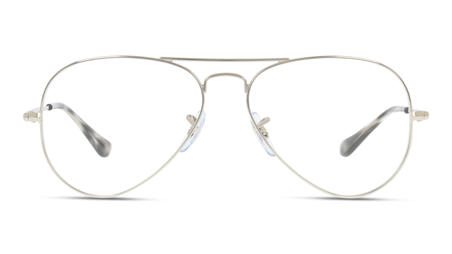 Front Ray-Ban Ray-Ban 0RX6489 2501 55/14 Zilver