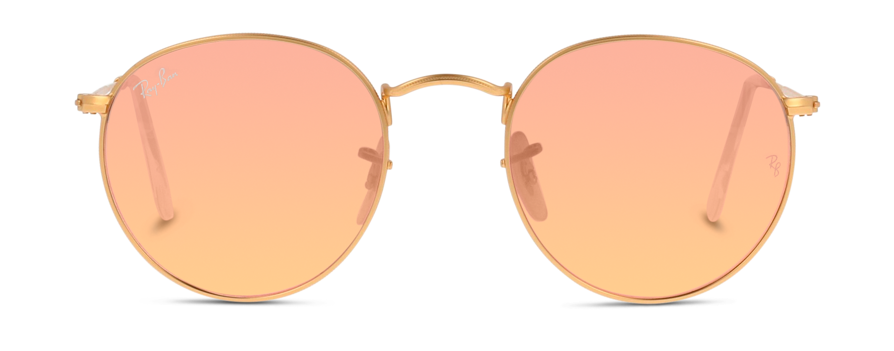 Front Ray-Ban Ray-Ban 3447 112/Z2 50/21 Goud/Roze