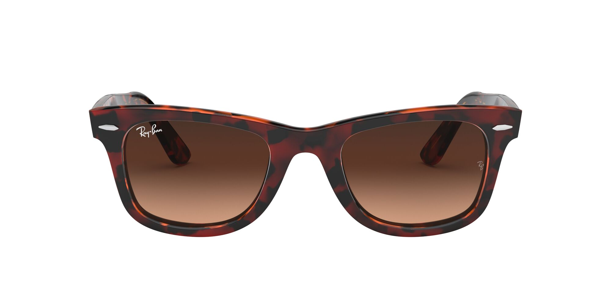 Front Ray-Ban Ray-Ban 0RB2140 1275A5 50/22 Rood/Roze