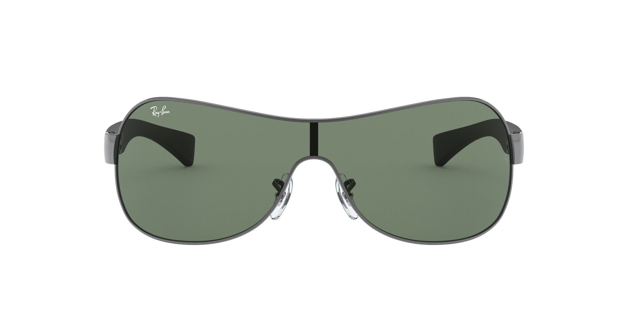 Front Ray-Ban Ray-Ban 0RB3471 004/71 32/0 Grijs/Groen