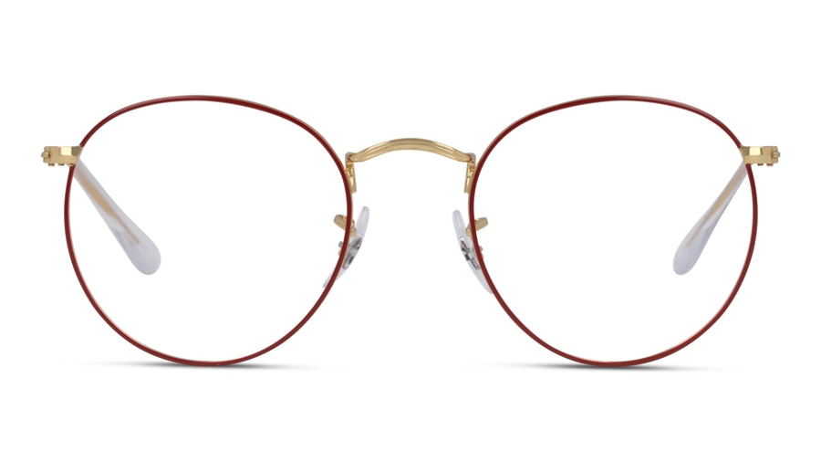 Ray-Ban ROUND METAL 3447V RD Rood, Goud