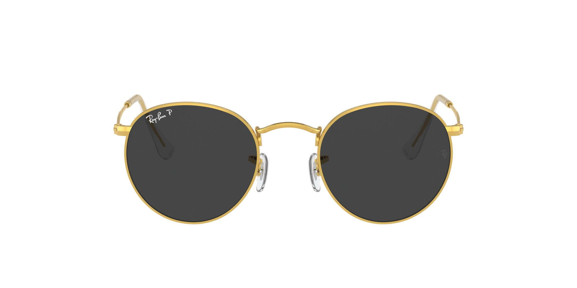 Front Ray-Ban Ray-Ban 0RB3447 919648 50/21 Goud/Grijs