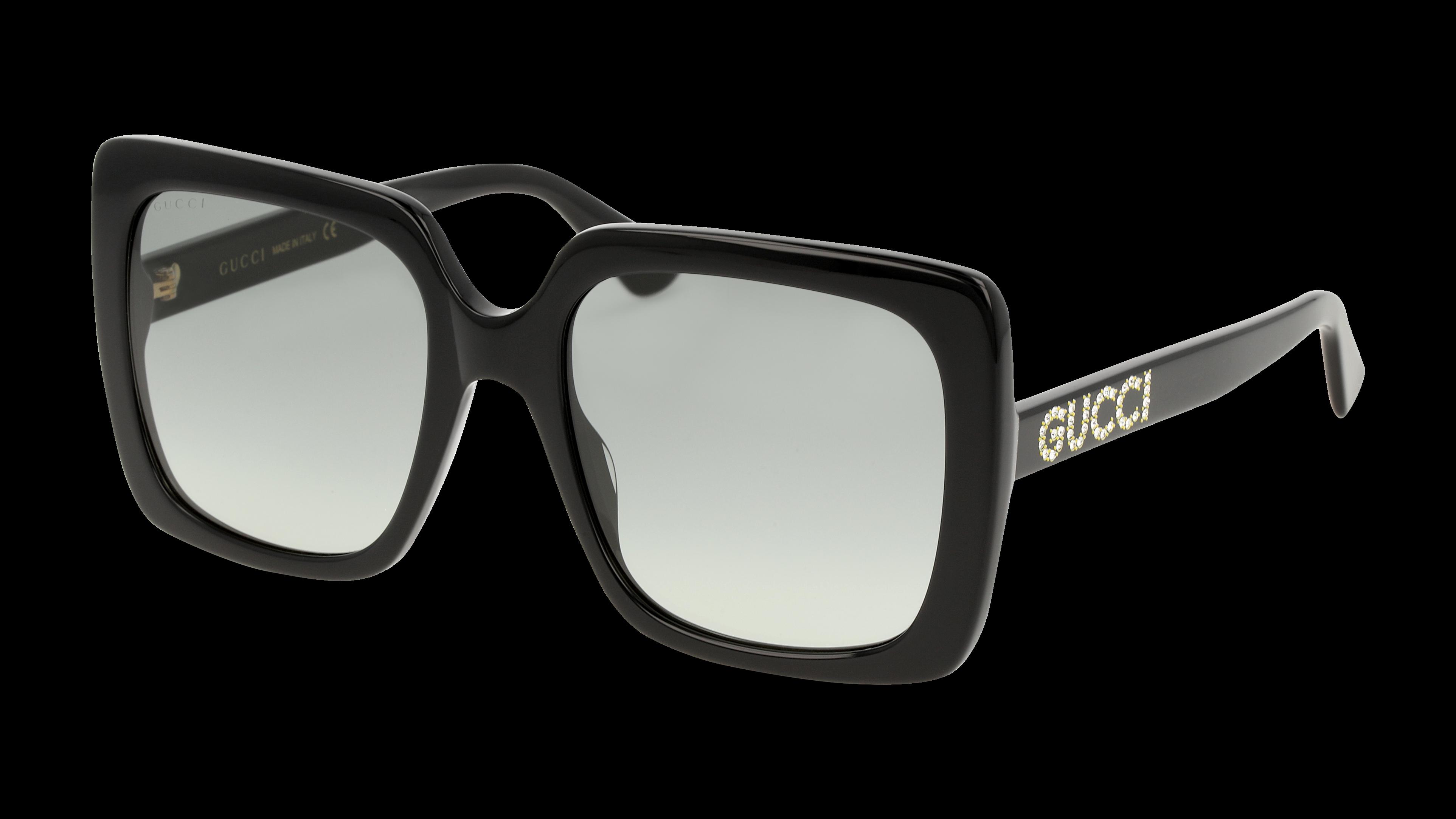 Angle_Left01 Gucci Gucci 0418S-001 Nero/Grigio