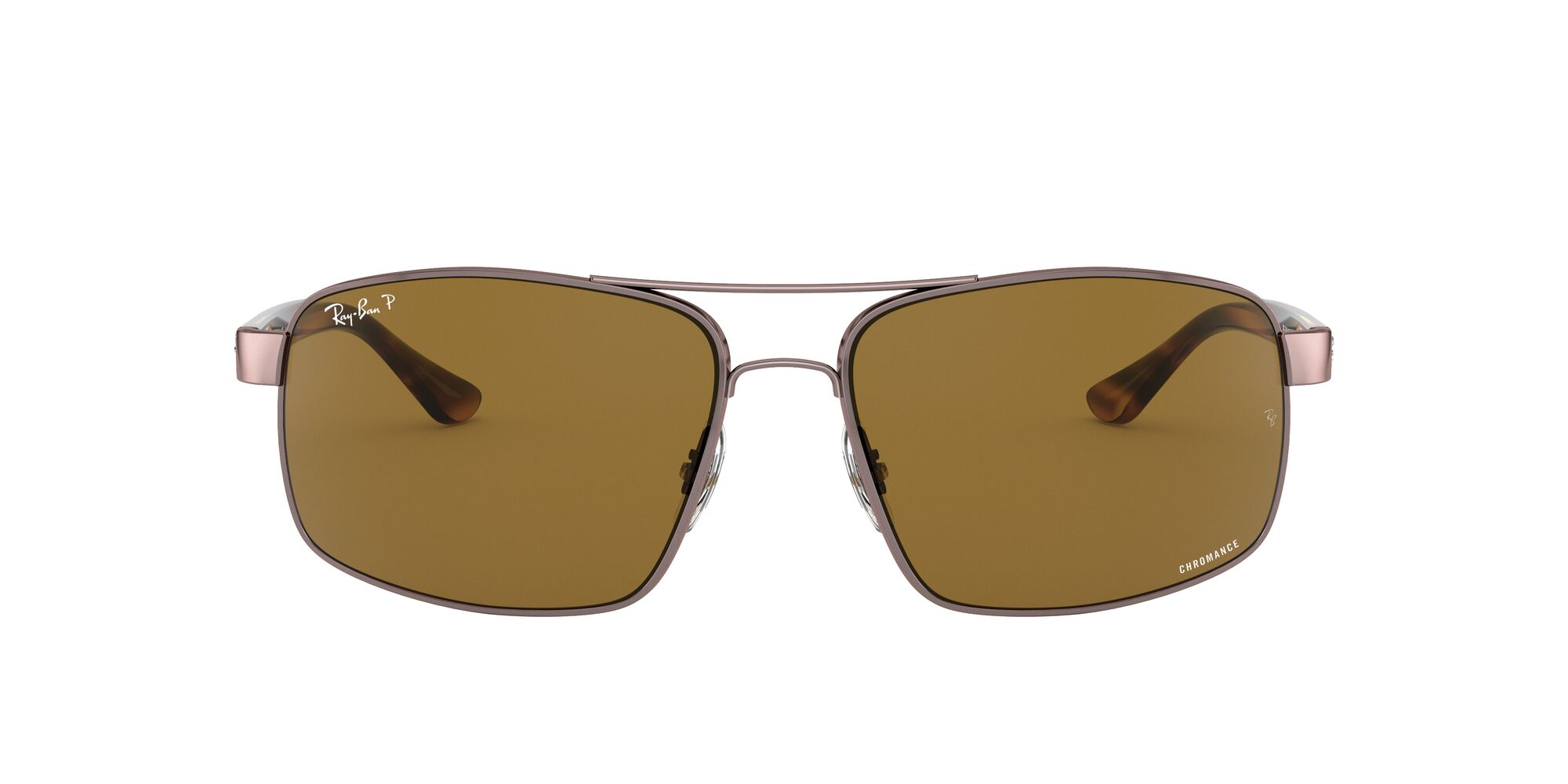 Front Ray-Ban Ray-Ban RB3604CH 121/BB 62/15 Bruin/Bruin
