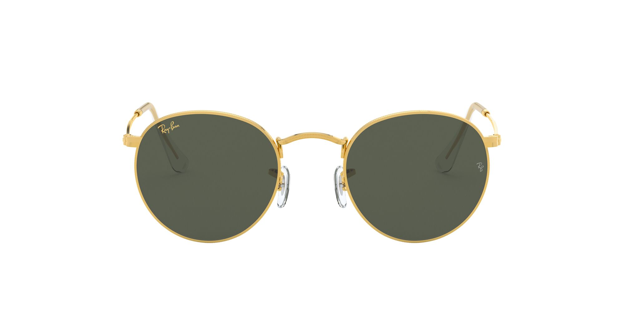 Front Ray-Ban Ray-Ban 0RB3447 919631 53/21 Goud/Groen