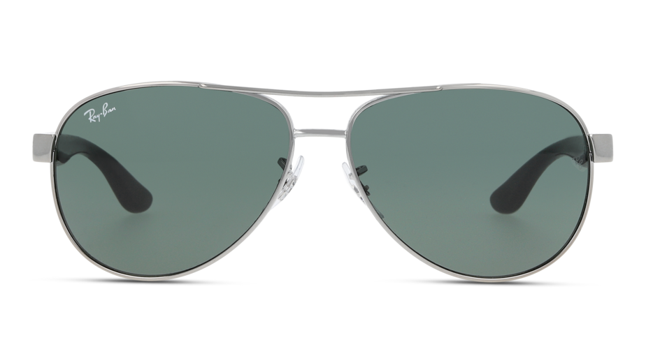 Front Ray-Ban Ray-Ban 3457 917071 59/13 Zilver/Groen
