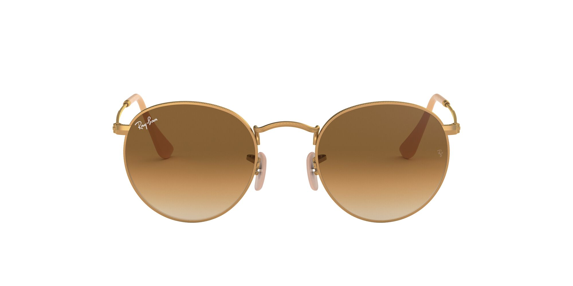 Front Ray-Ban Ray-Ban 0RB3447 112/51 50/21 Goud/Bruin