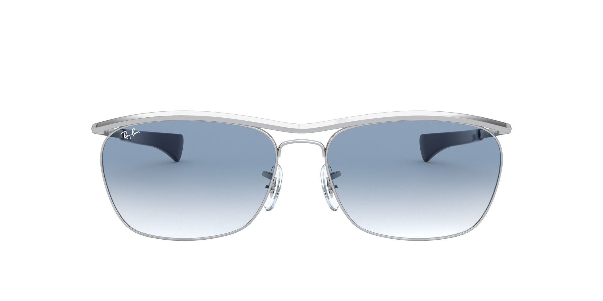 Front Ray-Ban Ray-Ban 0RB3619 003/3F 60/16 Zilver/Blauw