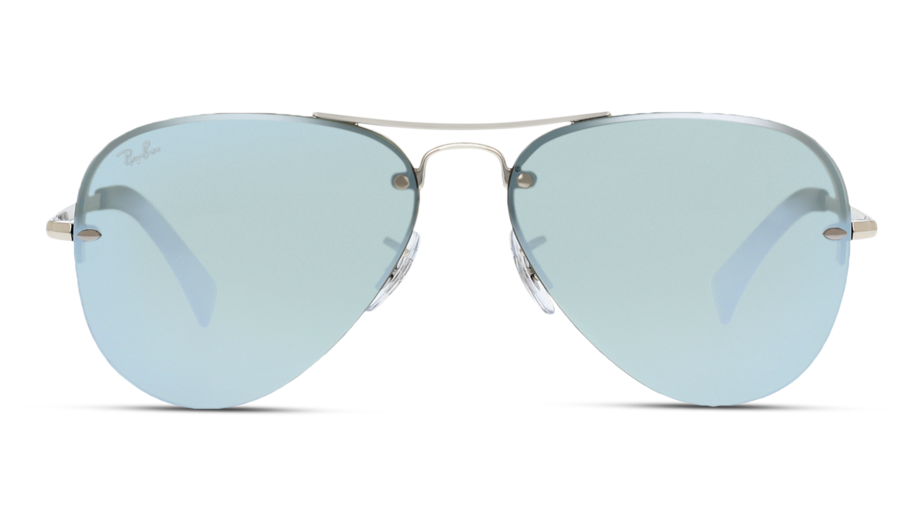 Front Ray-Ban Ray-Ban 0RB3449 003/30 59/14 Zilver/Zilver