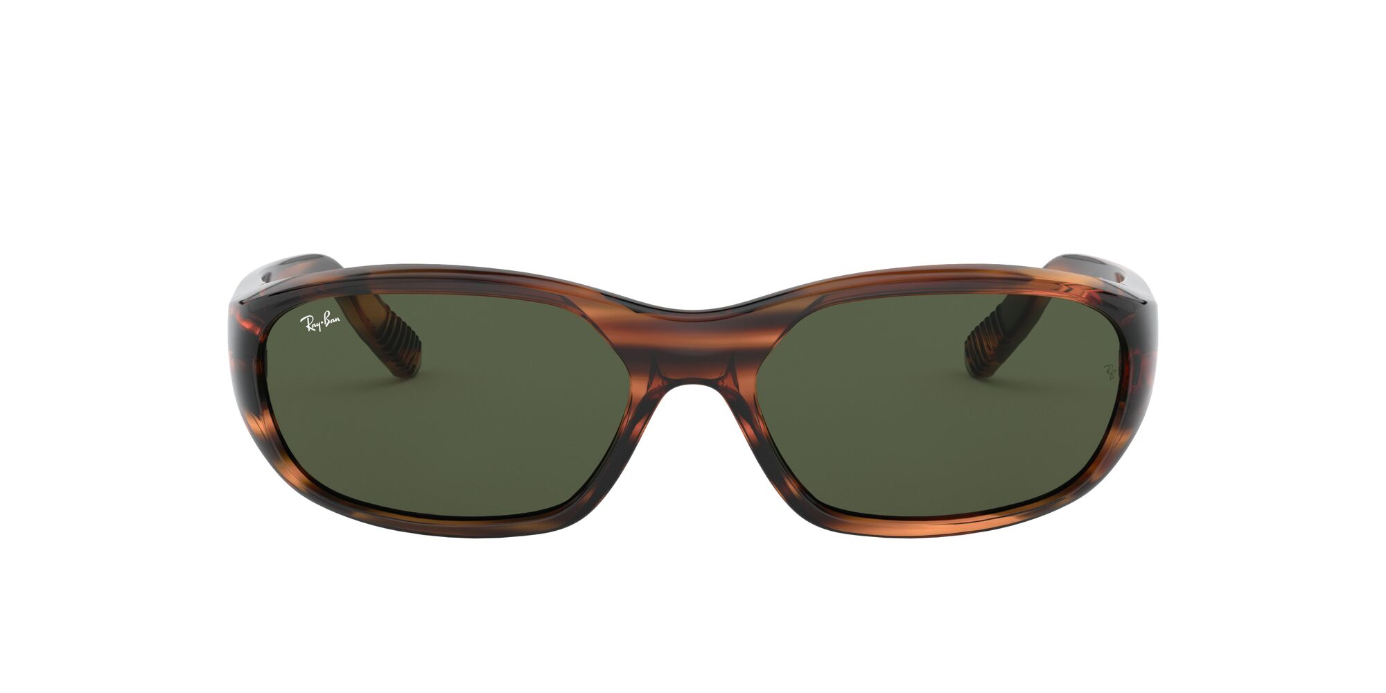 Front Ray-Ban Ray-Ban 0RB2016 820/31 57/17 Rood/Groen