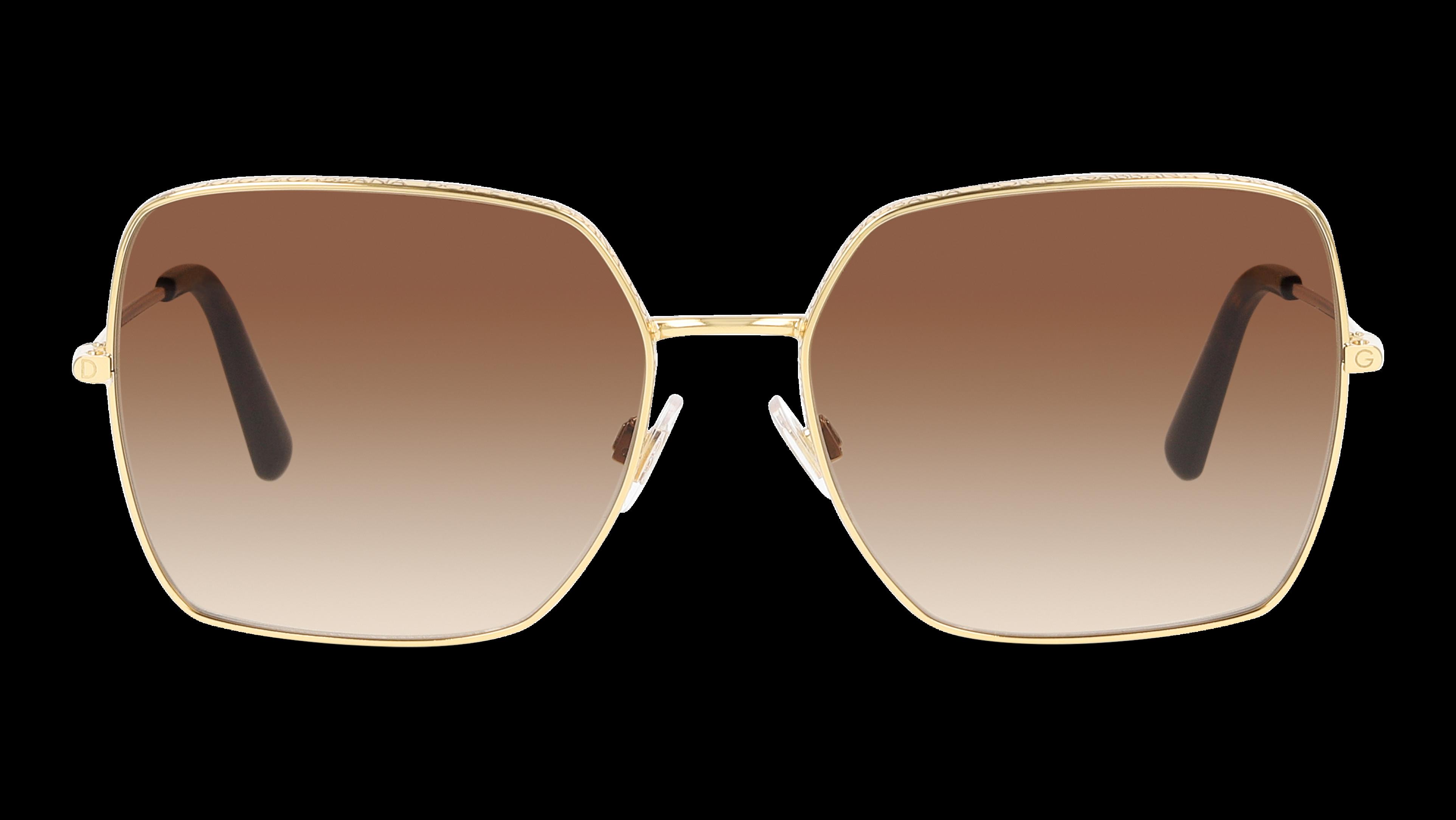 Front Dolce & Gabbana DolceGab 2242 41306 57/16 Oro/Marrone