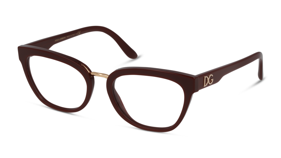 Angle_Left01 Dolce & Gabbana DolceGab 0DG3335 3091 54/19 Rosso
