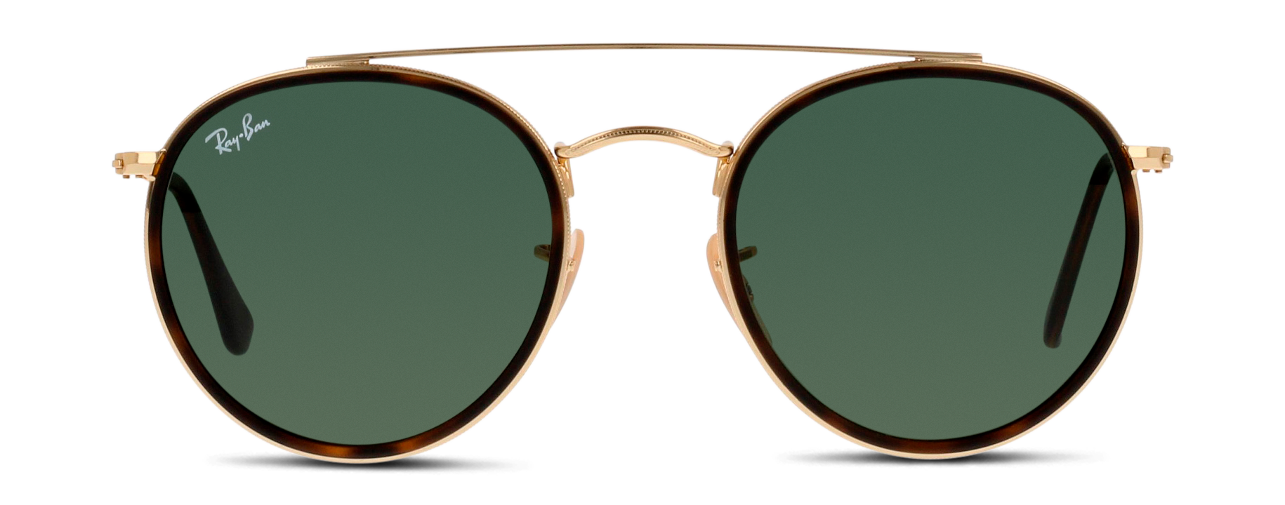 Front Ray-Ban Ray-Ban 3647N 001 51/22 Goud/Groen