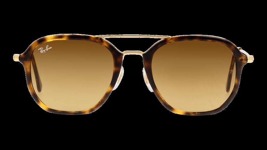 Front Ray-Ban Ray-Ban 4273 710/85 52/21 Gold, Bruin/Bruin