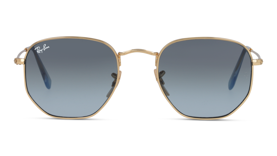 Front Ray-Ban Ray-Ban 0RB3548N 91233M 51/21 Goud/Blauw