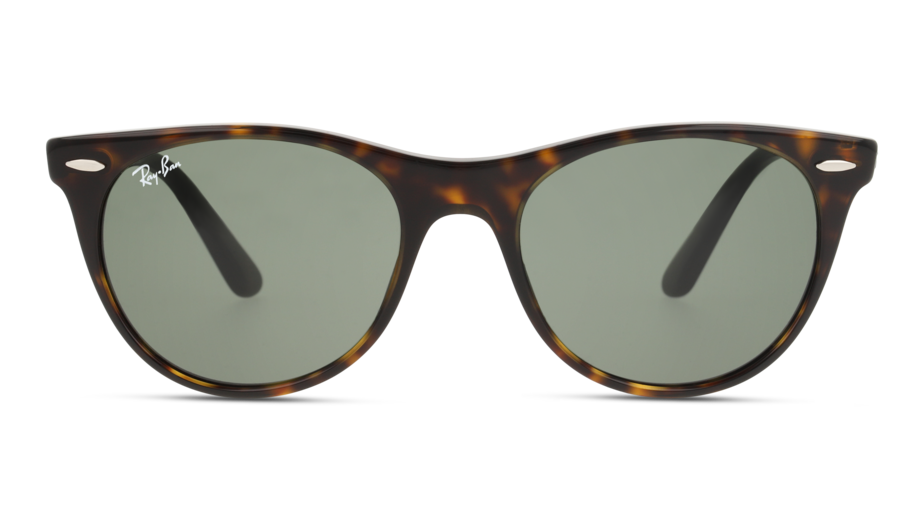 Front Ray-Ban Ray-Ban 0RB2185 902/31 52/18 Bruin/Groen