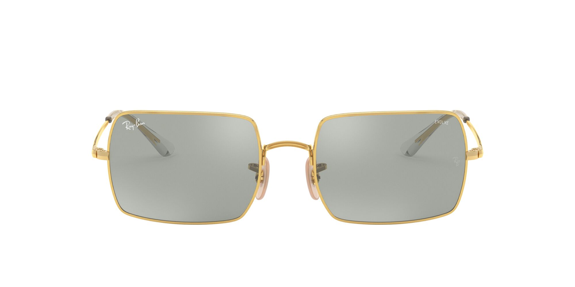Front Ray-Ban Ray-Ban 0RB1969 001/W3 53/19 Goud/Grijs