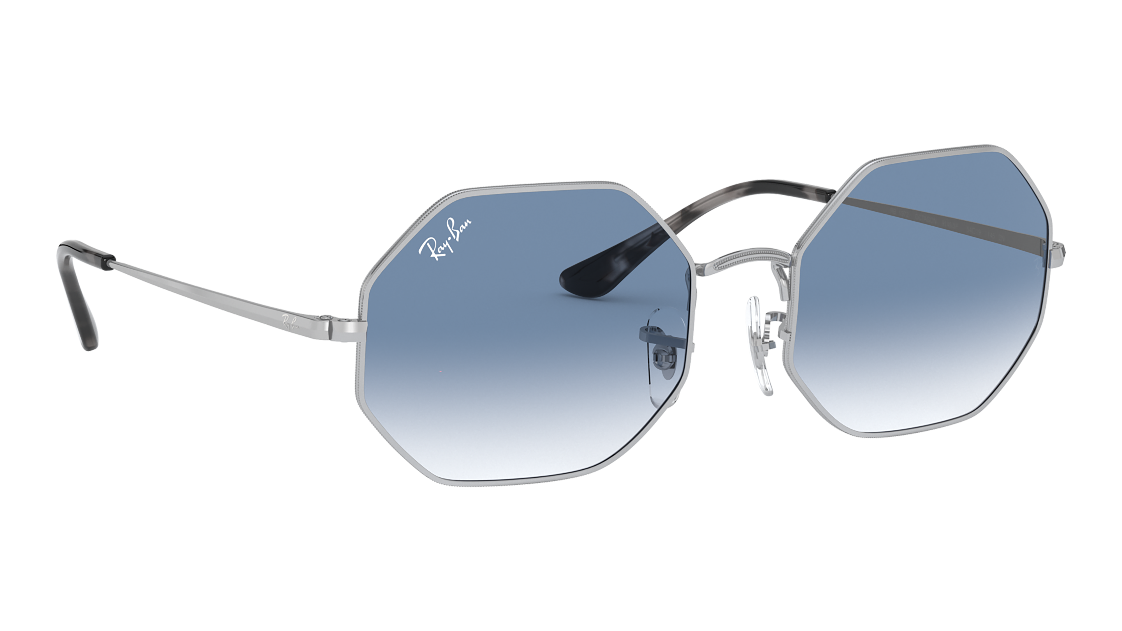 Angle_Right02 Ray-Ban Ray-Ban 0RB1972 91493F 54/19 Zilver/Blauw