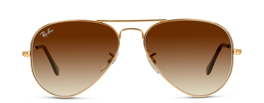 Ray-Ban AVIATOR LARGE METAL B3025 001/51 Brun