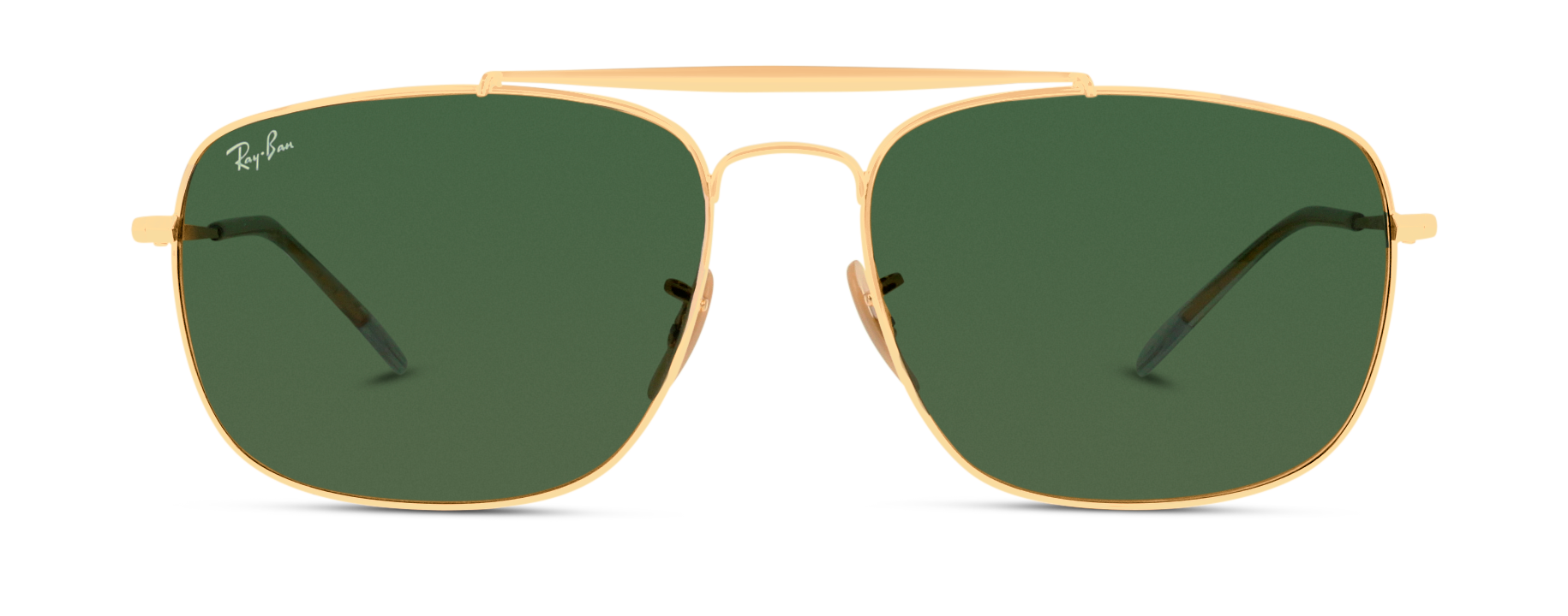 Front Ray-Ban Ray-Ban 0RB3560 001 61/17 Goud/Groen