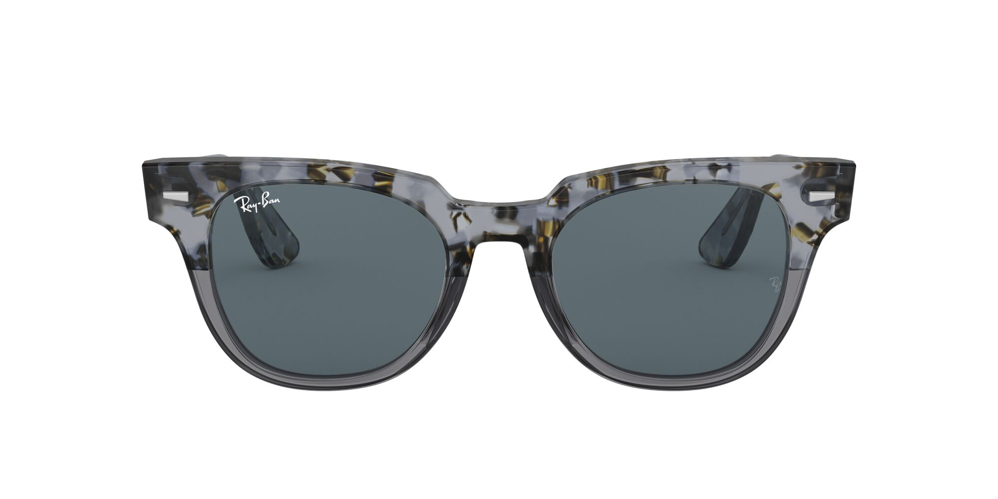 Front Ray-Ban Ray-Ban 0RB2168 1286R5 49/20 Bruin, Grijs/Blauw
