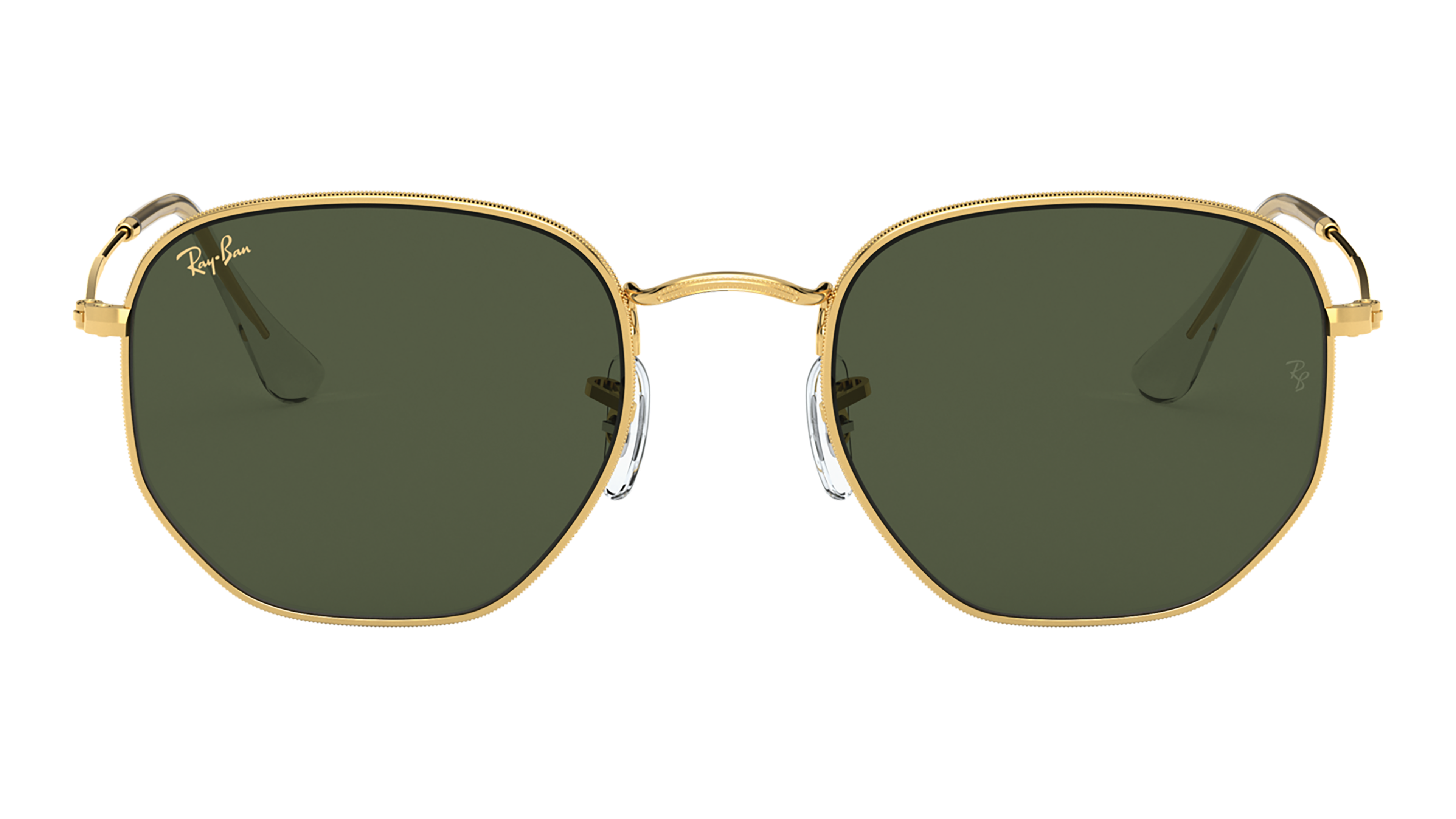 Front Ray-Ban Ray-Ban 0RB3548 919631 54/21 Goud/Groen