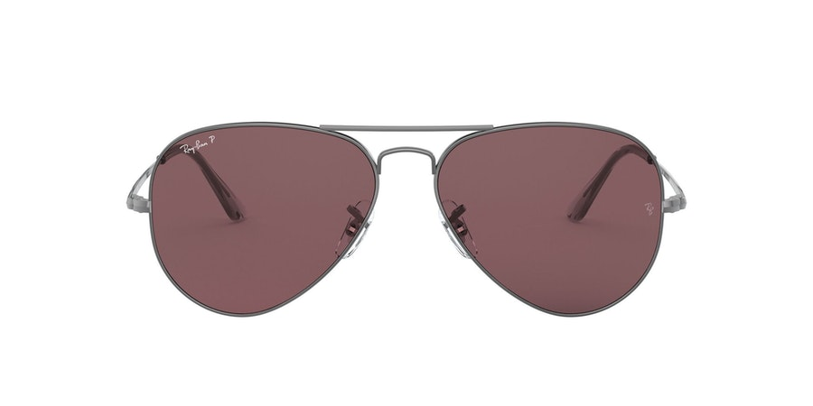 Ray-Ban 0RB3689 004/AF Paars / Zilver