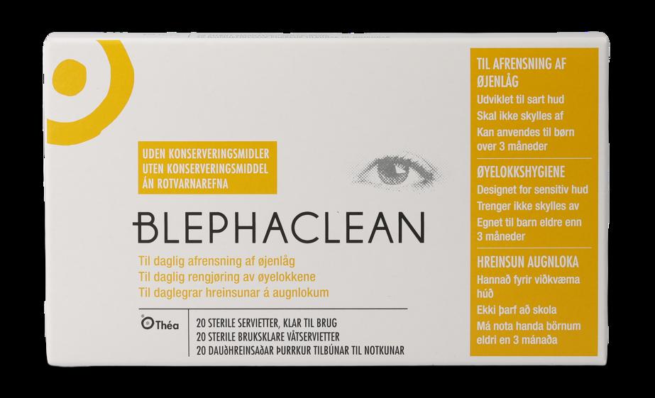 Front Blephaclean Blephaclean